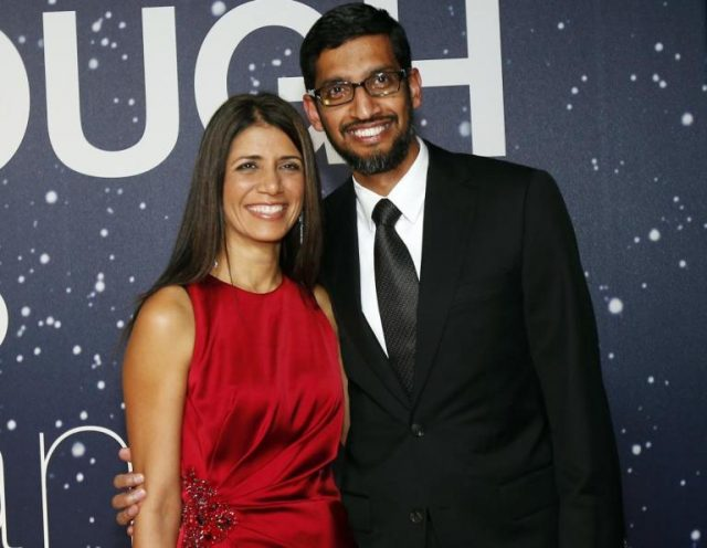 Anjali Pichai Bio and All You Must Know About Her, Her Husband and Family